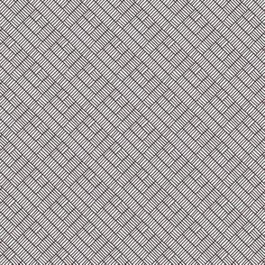 Herringbone // black on white