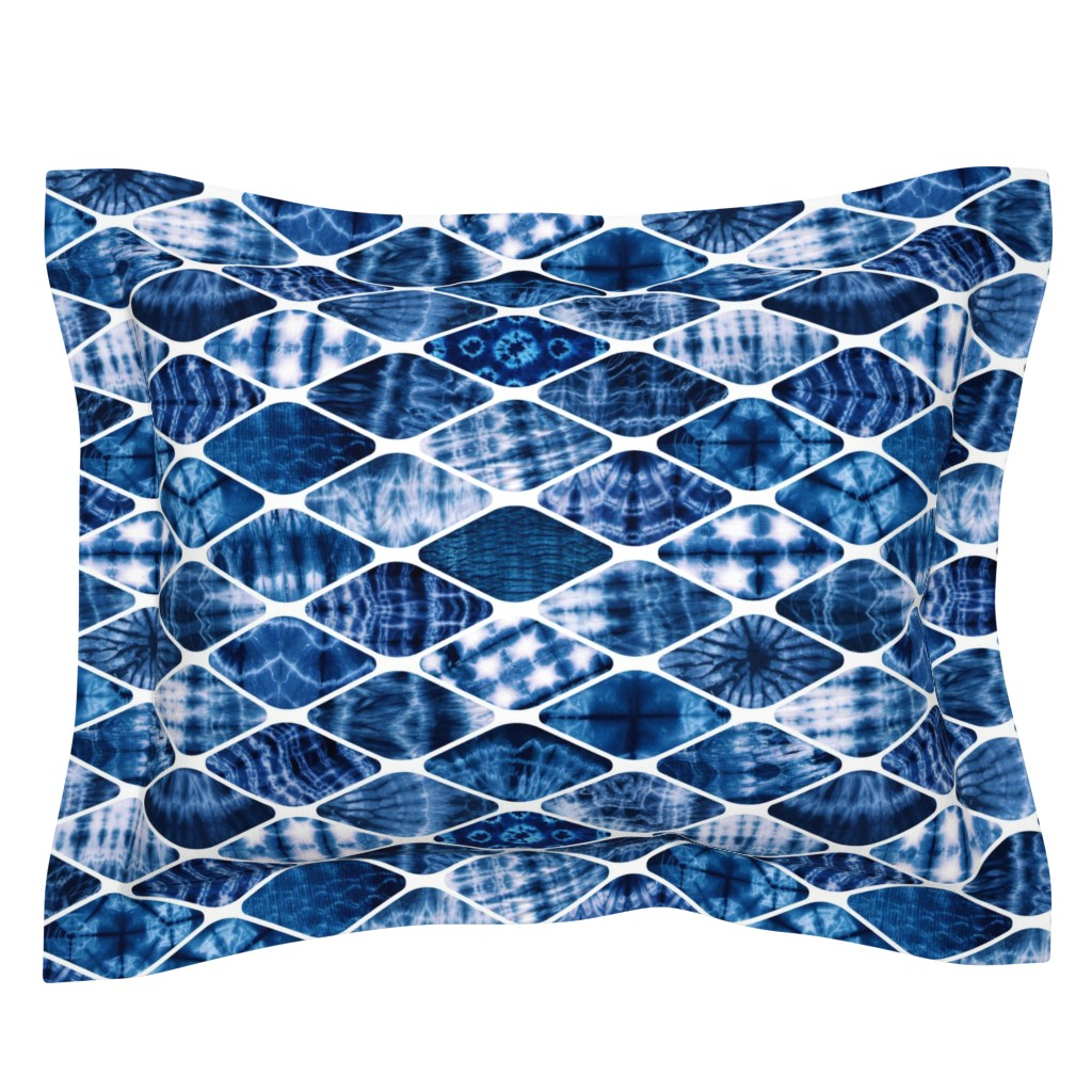 Sebright Pillow Sham featuring multiverse by cleorie_designs