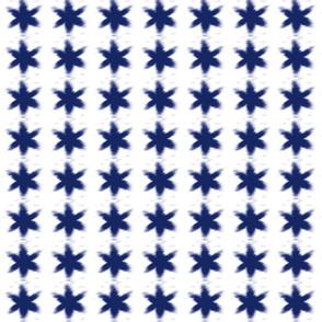 blue shibori