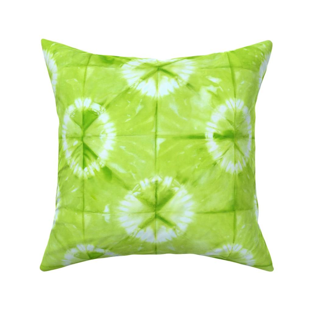 Catalan Throw Pillow featuring Summer Lemonade_Shibori by mia_valdez