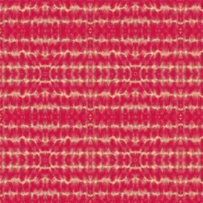 Shibori Red