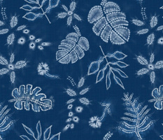 Indigo Shibori Jungle