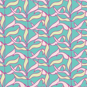 Rows of leaves 2