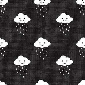 Rainy Clouds- Black