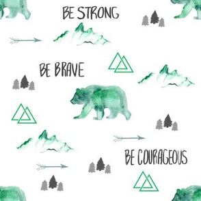 Be Brave in Green