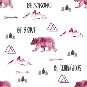 Be Brave in Pink