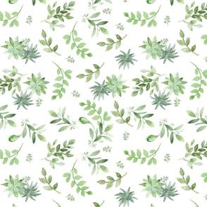 Fresh Greenery smaller pattern