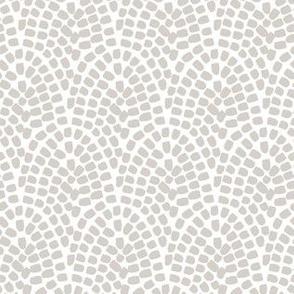 Dabs // grey on white