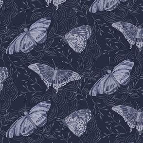 Shibori Butterflies