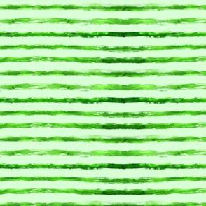 Green stripes on light green background || watermelon skin