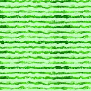 Watermelon skin, tiny scale • watercolor grungy green stripes