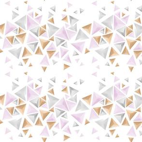 Falling Pyramids - Abstract Minimalist