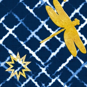 Golden Shibori
