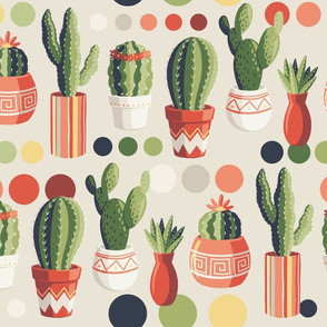 Cactus Paint By Numbers