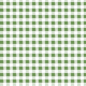 gingham-green