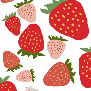 strawberry festival-white