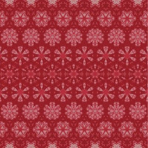 Quilting in Red Design No 9 Metamorphasis
