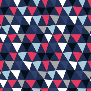 Triangles Small by Friztin