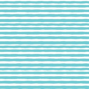tropical stripe - turquoise