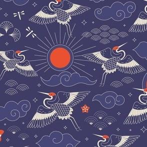 Aquamarine shells