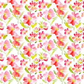 Passion flowers • mini scale • watercolor florals