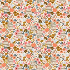 Bee garden - tiny repeat