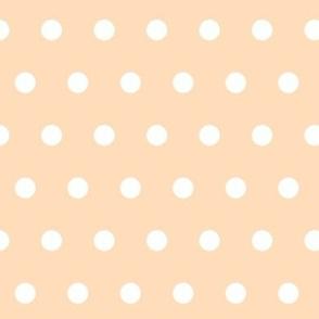 Polka Dots (apricot)