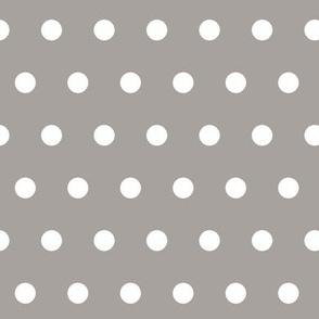 Polka Dots (darker gray)