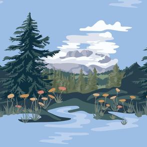 Island Lake Inspired