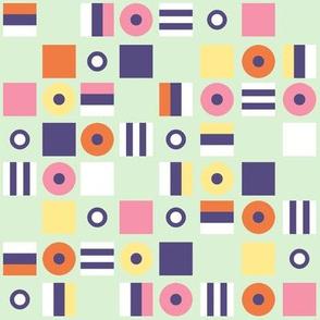 Liquorice Allsorts - spring quilt colors