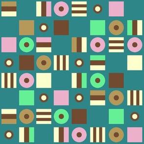 Liquorice Allsorts - summer colors