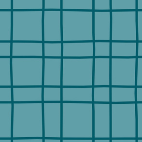 teal hashmarks
