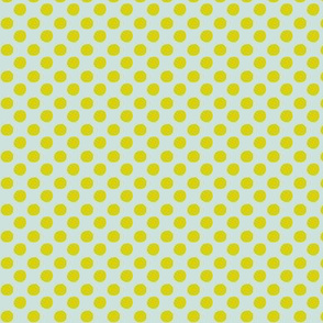 Polka dots - chartreuse