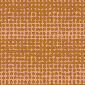 Irregular dotted halftone animal texture