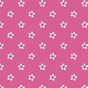 small floral pink