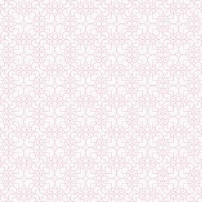geometric outline pink