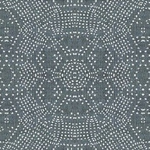 FRENCH LINEN MOSAIC GREY LIGHT