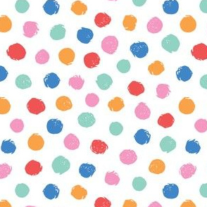 colorful doodle dots texture