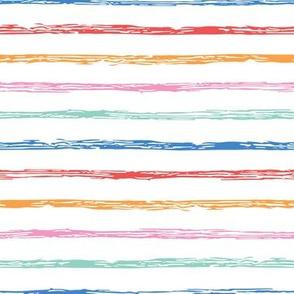 Colorful doodle texture stripes