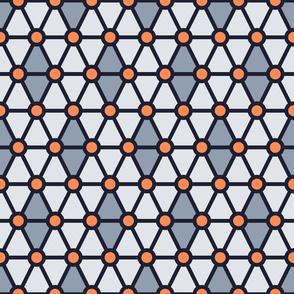 Geometric Pattern: Hexagon Circle: Flutter
