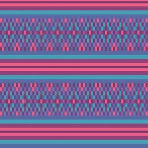 colorful ethnic stripes plaid