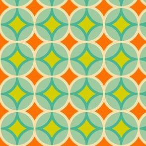 Geometric Pattern: Circle Nested Offset: Summer