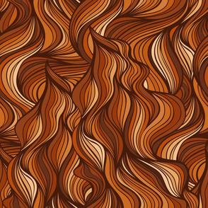 Auburn hair pattern