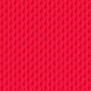 Rote Notenschluessel