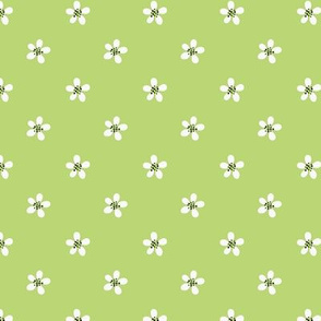 small floral green