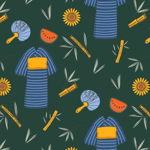 Japanese Summer Pattern