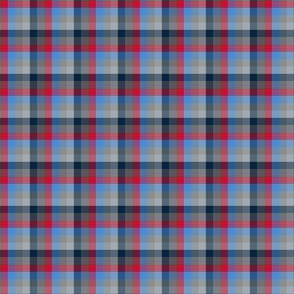The Red the Blue the Navy and the Gray: All Color Little Plaid