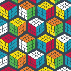 Geek Cubes Primary Solved
