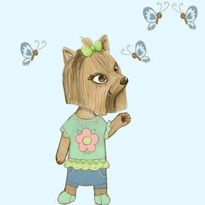 Yolanda and butterfly