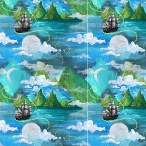 Off on Adventure // custom 1 quilt sqaures